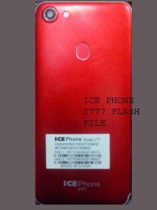 ICE PHONE I777 FLASH FILE