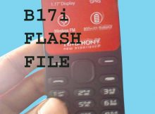 SYMPHONY B17i FLASH FILE