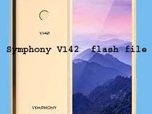 Symphony V142 flash file
