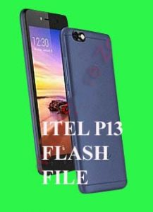 ITEL P13 FLASH FILE