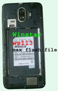 Winstar ws113 max flash file mt6580 5 1 (without password