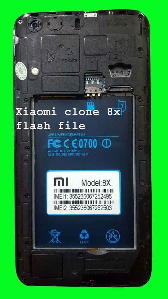 Xiaomi clone 8x flash file mt6580 8 0 (without password) | firmwareus