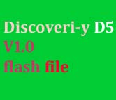 Discoveri-y D5 V1.0 flash file