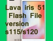 Lava iris 51 Flash File