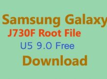 Samsung Galaxy J730F Root File