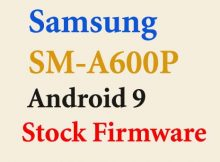 Samsung SM-A600P flash file