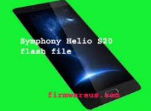 Symphony Helio S20 flash file