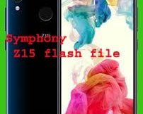 Symphony Z15 flash file