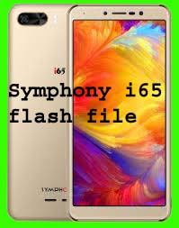 Symphony i65 flash file