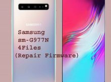 Samsung sm-G977N 4Files