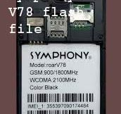 Symphony V78 flash file