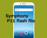 Symphony P11 flash file